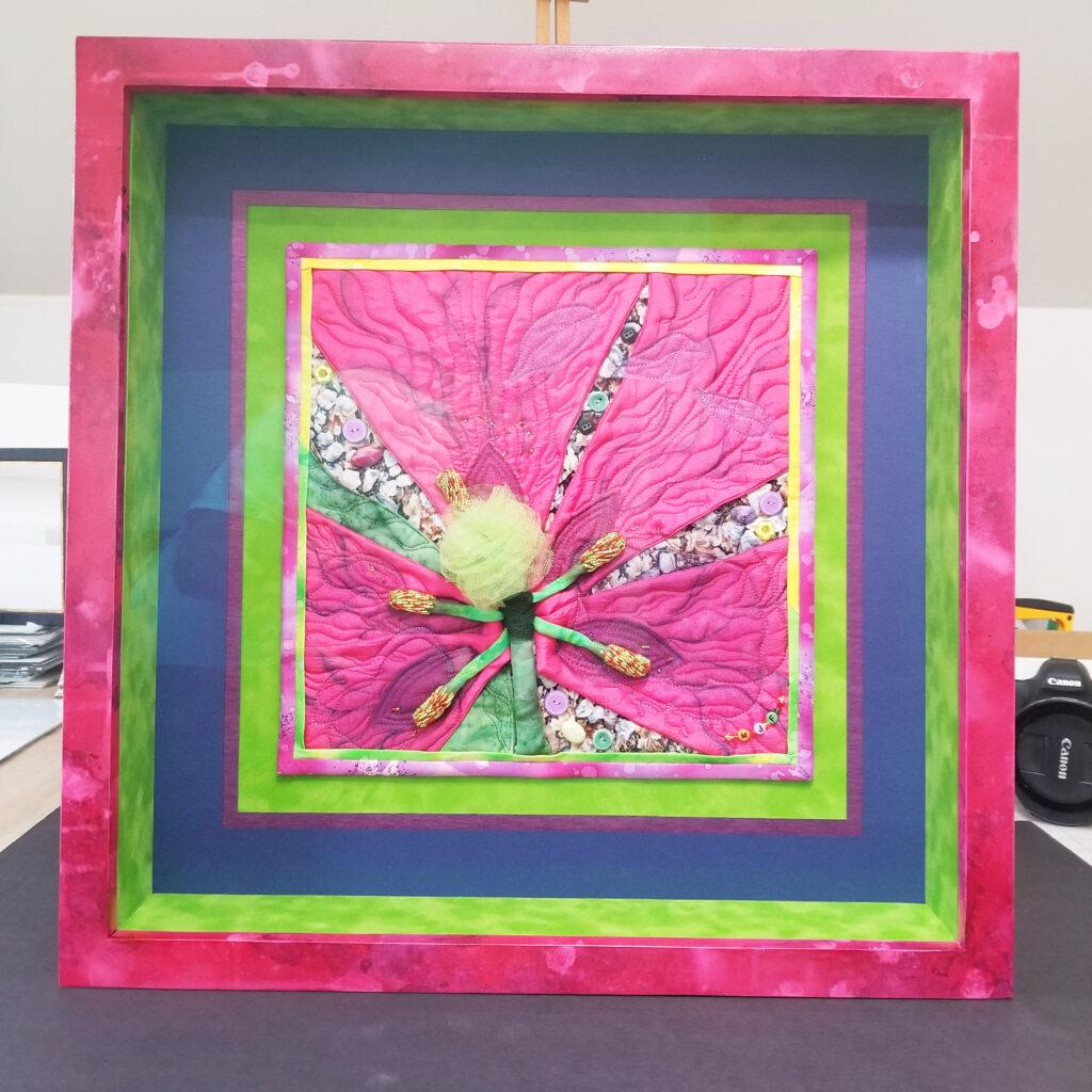 custom painted frame